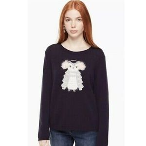 Kate Spade | Broome Street Navy Owl Sweater